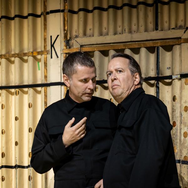 Shanti Roney och Göran Ragnerstam.